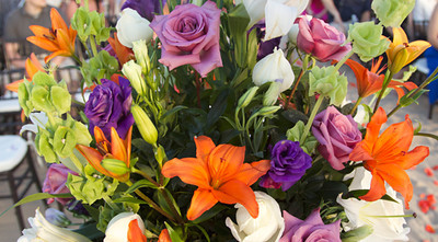 ceremony flowers-S