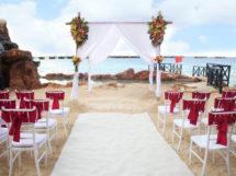 beach wed