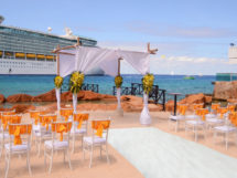 cozumel beach wedding